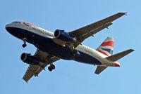 G-EUPC @ EGLL - Airbus A319-131 [1118] (British Airways) Home~G 15/05/2010. On approach 27R.