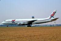 9G-MKF @ FAJS - Douglas DC-8-55F [45820] (MK Air Cargo) Johannesburg Int~ZS 09/10/2003 - by Ray Barber