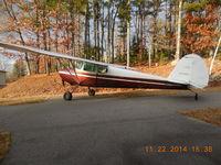 N4140V @ NH16 - 1948 Cessna 170 - by Gary Kozinski