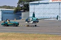 ZS-HAN @ FAGM - Robinson R-22 Beta [1500] (Henley Air) Johannesburg-Rand~ZS 07/10/2003