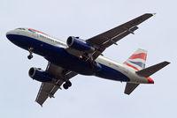 G-EUPU @ EGLL - Airbus A319-131 [1384] (British Airways) Home~G 23/05/2011. On approach 27R.