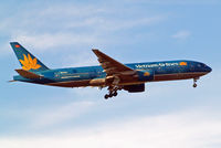 VN-A144 @ EGLL - VN-A144   Boeing 777-26KER [33503] (Vietnam Airlines) Home~G 27/05/2015. On approach 27L. - by Ray Barber