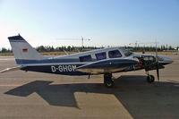 D-GHGM @ LESB - Piper PA-34-200 Seneca [34-7250157] Palma-Son Bonet~EC 17/09/2004