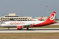 D-ABFZ @ LMML - A320 D-ABFZ Air Berlin - by Raymond Zammit