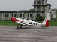 D-EFTY @ EDAK - D-EFTY at Grossenhain airport Germany - by Jack Poelstra