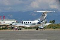 D-IDBU @ LEPA - Piper PA-42-720 Cheyenne IIIA [42-5501029] Palma De Mallorca~EC 19/09/2004 - by Ray Barber