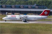 HB-IXX @ ELLX - British Aerospace Avro 146 RJ-100 - by Jerzy Maciaszek