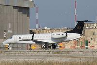 LX-RLG @ LMML - Embraer EMB-135 Legacy RLG - by Raymond Zammit