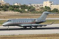 9H-VCD @ LMML - Bombardier BD-100 Challenger350 - by Raymond Zammit