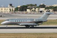 9H-VCD @ LMML - Bombardier BD-100 Challenger350 9H-VCD Vistajet - by Raymond Zammit
