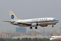 B-2662 @ ZGSZ - Boeing 737-3Q8 [24988] (Xiamen Airlines) Shenzhen-Baoan~B 23/10/2006 - by Ray Barber