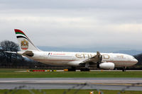 A6-EYD @ EGCC - Waiting for take-off from Manchester EGCC - by Clive Pattle