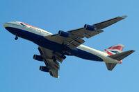 G-CIVV @ EGLL - Boeing 747-436 [25819] (British Airways) Home~G 25/05/2011. On approach 27R.