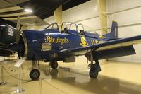 N100JE @ AZO - T-28 at Air Zoo - by Florida Metal