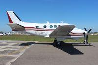 N110EL @ LAL - Beech King Air 90 - by Florida Metal