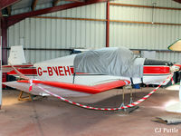 G-BVEH @ EGBR - Undergoing restoration at Breighton EGBR - by Clive Pattle