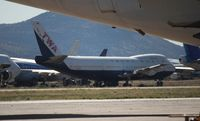 N129TW @ MZJ - TWA 747-100