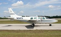 N134TS @ LAL - Aerostar 601 - by Florida Metal