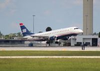 N136HQ @ PBI - US Airways E175