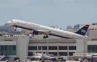 N155UW @ MIA - USAirways A321