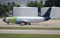 N156GA @ TPA - Blue Panorama 737-400