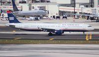N156UW @ MIA - USAirways A321
