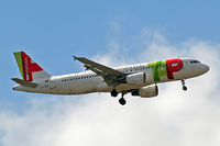 CS-TQD @ EGLL - Airbus A320-214 [0870] (Tap Air Portugal) Home~G 26/05/2015. On approach 27L. - by Ray Barber