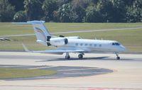 N167TV @ TPA - Gulfstream G400