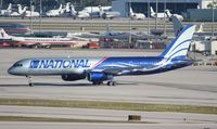 N176CA @ MIA - National 757