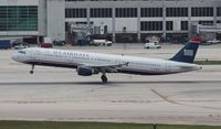N178US @ MIA - US Airways A321
