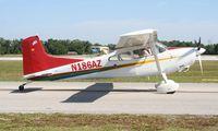 N186AZ @ LAL - Cessna 185F