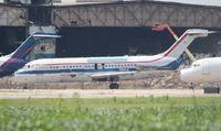 N194US @ YIP - USA Jet