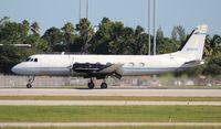 N195PA @ PBI - Gulfstream 1 - by Florida Metal
