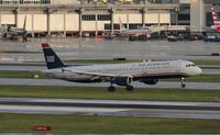 N196UW @ MIA - US Airways A321