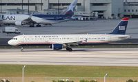 N198UW @ MIA - US Airways A321