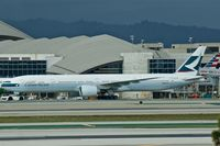 B-KPX @ KLAX - Cathay Pacific, is here taxiing at Loas Angeles Int'l(KLAX) - by A. Gendorf