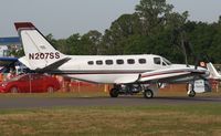 N207SS @ LAL - Cessna 441