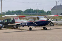 C-GGFV @ CYKF - Cessna 172N Skyhawk [172-73938] (Waterloo Wellington Flight Centre) Kitchener-Waterloo Regional~C 24/06/2005 - by Ray Barber