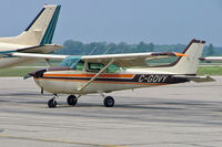 C-GQVY @ CYKF - Cessna 172N Skyhawk [172-73096] Kitchener-Waterloo Regional~C 24/06/2005 - by Ray Barber