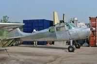 CF-HER @ CYOO - Cessna 170B [20292] Oshawa~C 25/06/2005. Unmarked. - by Ray Barber