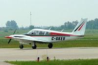 C-GKEV @ CYOO - Piper PA-30-160 Twin Comanche B [30-1025] Oshawa~C 25/06/2005 - by Ray Barber