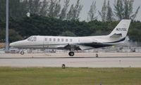 N217GL @ PBI - Cessna 560