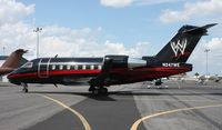 N247WE - WWE Challenger 604 since sold after WWE Wrestling acquired the Global 5000