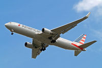 N394AN @ EGLL - Boeing 767-323ER [29431] (American Airlines) Home~G 01/06/2015. On approach 27R.