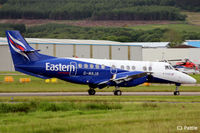 G-MAJA @ EGPD - In action at Aberdeen Airport, Scotland EGPD - by Clive Pattle