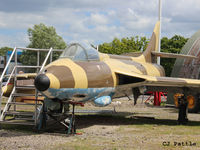 N-268 @ EGYK - Looking rather the worse for wear - On display at the Yorkshire Air Museum, Elvington, EGYK - by Clive Pattle