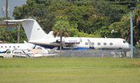 N302DP @ KFXE - Gulfstream II