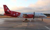 D-COLE @ ESOE - Parked outside maintenance hangar. - by Krister Karlsmoen