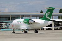 EZ-B023 @ LOWW - Bombardier 605 Challenger [5750] (Government of Turkmenistan) Vienna-Schwechat~OE 13/07/2009