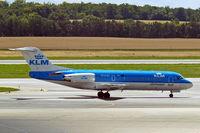 PH-KZD @ LOWW - Fokker F-70 [11582] (KLM cityhopper) Vienna-Schwechat~OE 13/07/2009